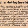 1962.08.01. Dohányáru-ellátás
