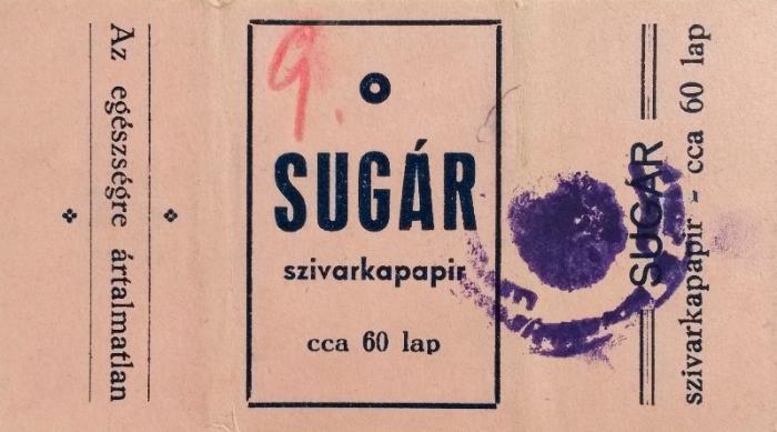 Sugár cigarettapapír